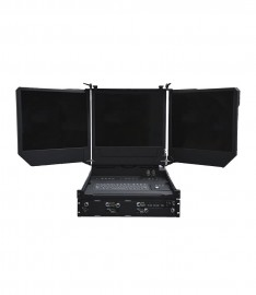 C-REACH R, Rack mounted 'all in one' solution for RoIP, video & server based systems